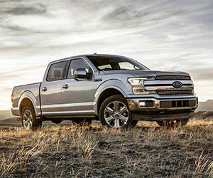 2018 Ford F-150 with Power Stroke diesel