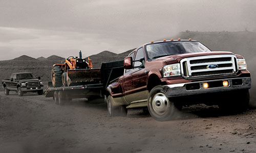 6.0L Power Stroke equipped Ford Super Duty