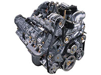 6.0L Power Stroke diesel engine, transmission