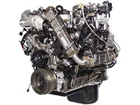 6.4L Power Stroke diesel engine