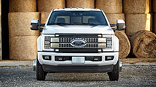 Power Stroke equipped Ford Super Duty