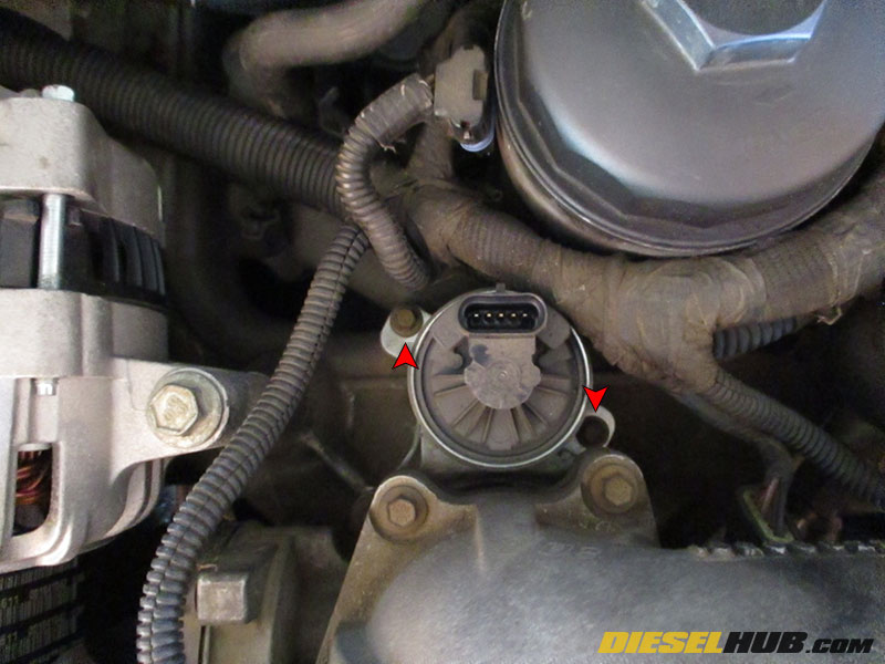 60l Power Stroke Egr Valve Removal Replacementrhpowerstrokehub: 2000 Ford E350 Egr Valve Location At Gmaili.net