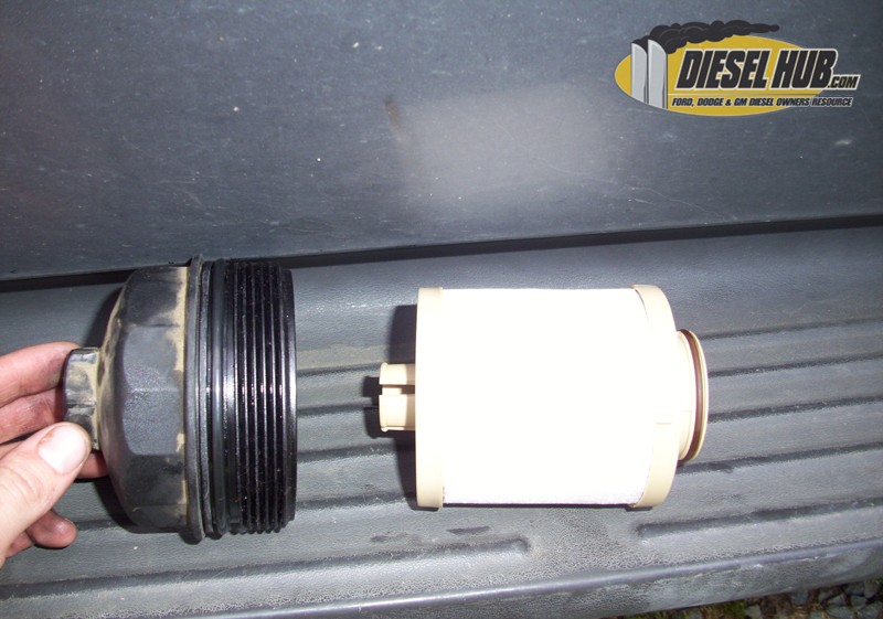 primary fuel filter replacement