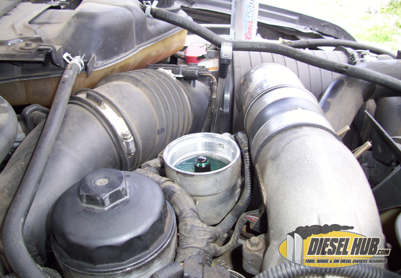 6 0L Power Stroke Fuel Filter Replacement Procedures
