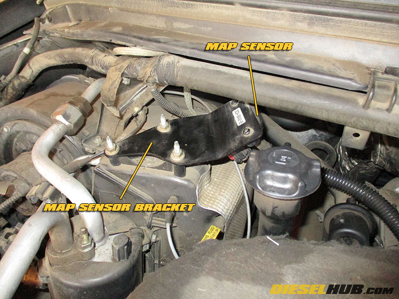 6.0L Power Stroke MAP Sensor Replacement