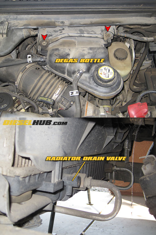 6 0l power stroke turbocharger removal installation guide rh powerstrokehub com