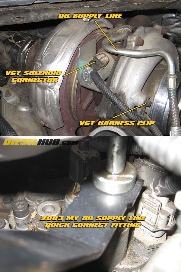 4 6 0l power stroke turbocharger removal & installation guide