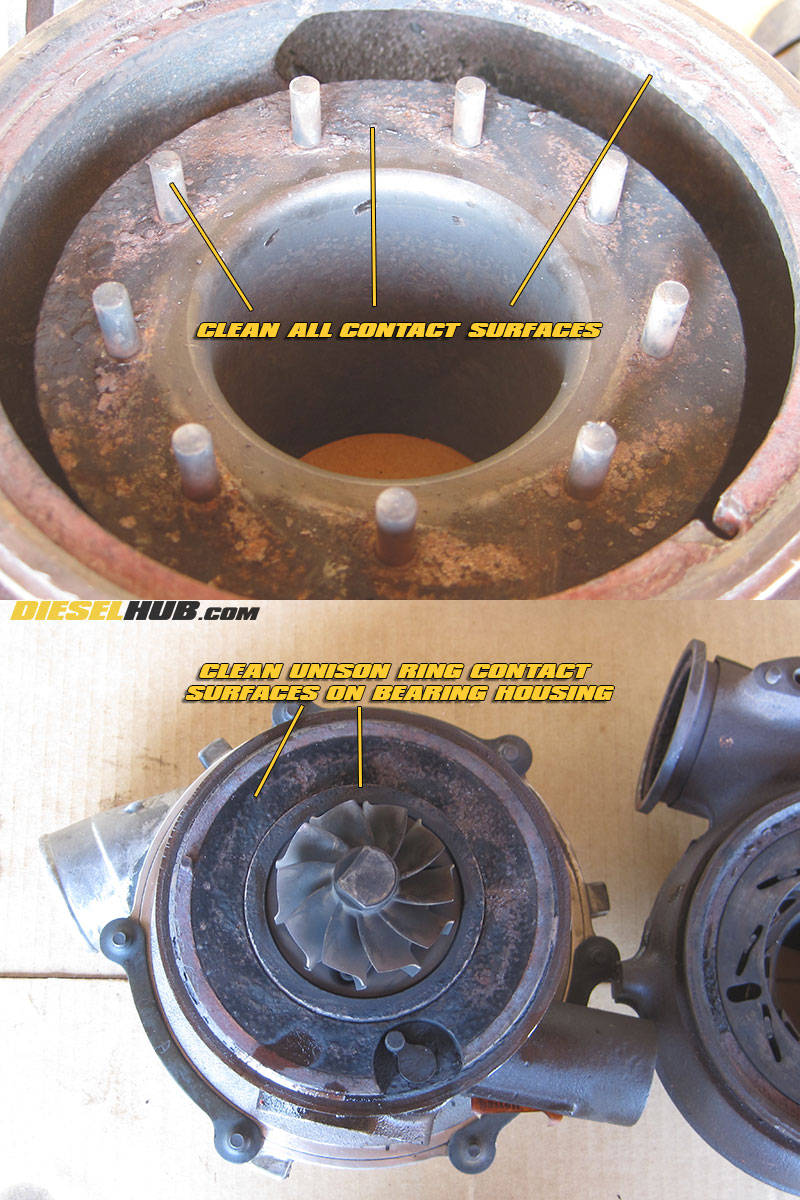 6 0L Power Stroke VGT Disassembly & Cleaning Procedures
