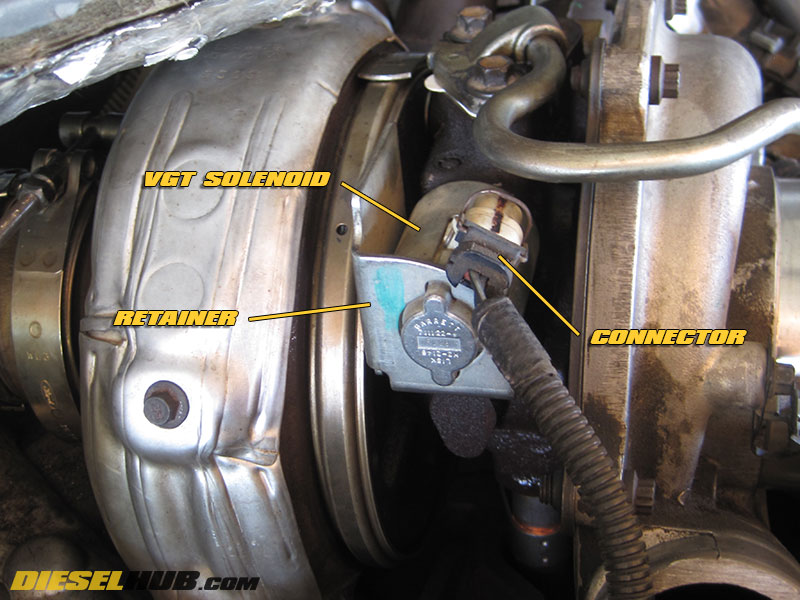 6 0L Power Stroke VGT Solenoid Replacement & Troubleshooting