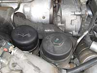engine mounted fuel filter