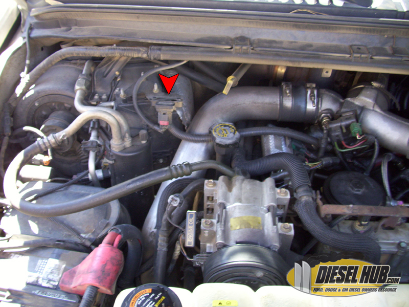 7.3L Power Stroke MAP Sensor Replacement Procedures