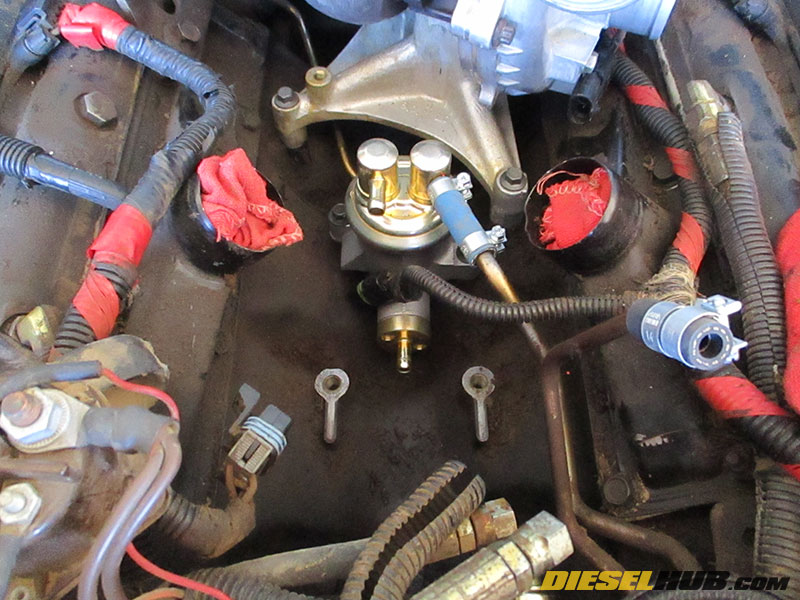 7 3L Power Stroke Fuel Filter Housing Removal & Installation Procedures